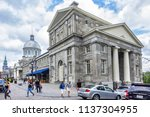 montreal  canada   august 13 ... | Shutterstock . vector #1137304955