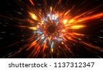 abstract mysterious heaven... | Shutterstock . vector #1137312347