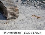 demolition of the building.... | Shutterstock . vector #1137317024