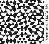 geometric pattern with black... | Shutterstock . vector #1137331364