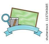school emblem design | Shutterstock .eps vector #1137343685