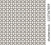 circle grid pattern. vector... | Shutterstock .eps vector #1137367859
