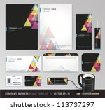 corporate identity business set....