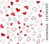 light red vector seamless... | Shutterstock .eps vector #1137401345