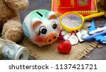 savings money for retirement... | Shutterstock . vector #1137421721