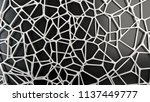 abstract white 3d grate on... | Shutterstock . vector #1137449777