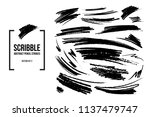 vector collection of abstract... | Shutterstock .eps vector #1137479747
