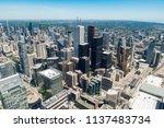 toronto  ontario  canada   july ... | Shutterstock . vector #1137483734
