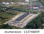 aerial vie over the industrial... | Shutterstock . vector #113748859
