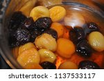 compote of assorted boiled... | Shutterstock . vector #1137533117