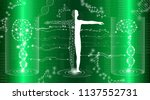 abstract background technology... | Shutterstock .eps vector #1137552731