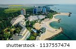 aerial drone view of neptun... | Shutterstock . vector #1137557474