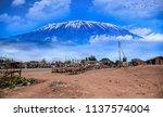 The Slopes Of Mt Kilimanjaro...