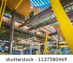 barajas  madrid  spain  07 19... | Shutterstock . vector #1137580469