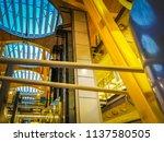 barajas  madrid  spain  07 19... | Shutterstock . vector #1137580505