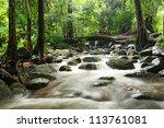 Chan Ta Then Waterfall  In...