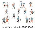 set character different student ... | Shutterstock .eps vector #1137635867