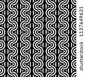seamless pattern with circles... | Shutterstock .eps vector #1137649631