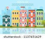 venice cityscape vector.... | Shutterstock .eps vector #1137651629