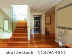 Entry With Stairs And Glass ...