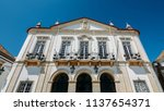 faro  portugal   july 16  2018  ... | Shutterstock . vector #1137654371