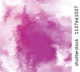 watercolor painted background.... | Shutterstock . vector #1137661037