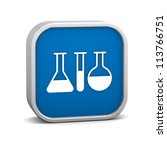 laboratory sign on a white...   Shutterstock . vector #113766751