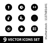 ui icon. collection of 9 ui...