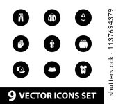 wear icon. collection of 9 wear ...   Shutterstock .eps vector #1137694379