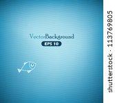Blue Abstract Vector Backgroun...