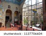 figueres  spain  june 28  ... | Shutterstock . vector #1137706604