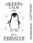 """""""keep calm and be a penguin""""... 