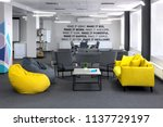Creative Space.with Yellow Sof...