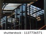 original building reflections | Shutterstock . vector #1137736571