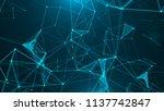 abstract digital background.... | Shutterstock . vector #1137742847