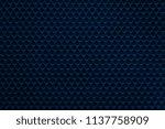 uniform corrugated texture of... | Shutterstock . vector #1137758909