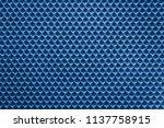 uniform corrugated texture of... | Shutterstock . vector #1137758915