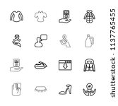 drawn icon. collection of 16...   Shutterstock .eps vector #1137765455