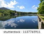 lake called the sea with a... | Shutterstock . vector #1137765911