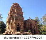 prasat yai ngao the stone... | Shutterstock . vector #1137796229