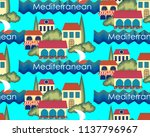 sramless pattern of typical... | Shutterstock .eps vector #1137796967