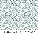 seamless vector pattern with... | Shutterstock .eps vector #1137828617