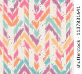 seamless abstract pattern. can... | Shutterstock .eps vector #1137831641