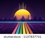 vector image of old  retro ... | Shutterstock .eps vector #1137837731