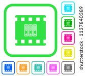 archive movie vivid colored... | Shutterstock .eps vector #1137840389