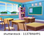 modern gradient flat vector...   Shutterstock .eps vector #1137846491