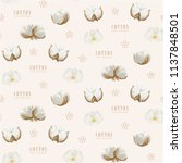vector seamless pattern with... | Shutterstock .eps vector #1137848501