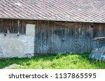farm architecture in village... | Shutterstock . vector #1137865595