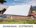 farm architecture in village... | Shutterstock . vector #1137865601