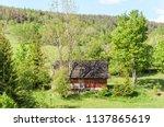 farm architecture in village... | Shutterstock . vector #1137865619